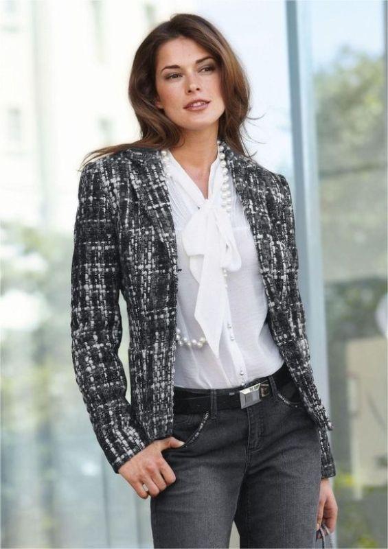 Picture Of Trendy Tweed Mockingbirds Jacket Looks 5
