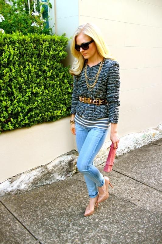 Picture Of Trendy Tweed Mockingbirds Jacket Looks 7