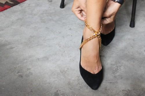 Universal DIY Wrapped Shoe Chain