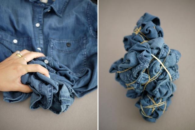 Picture Of Unusual DIY Tie Dye Denim 4