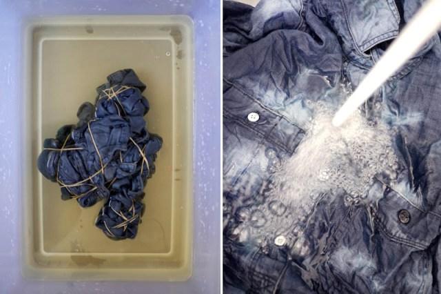 Picture Of Unusual DIY Tie Dye Denim 6