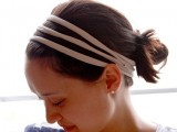 Very Easy-To-Make DIY No-Sew T-Shirt Headband