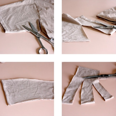 Very Easy To Make DIY No Sew T Shirt Headband