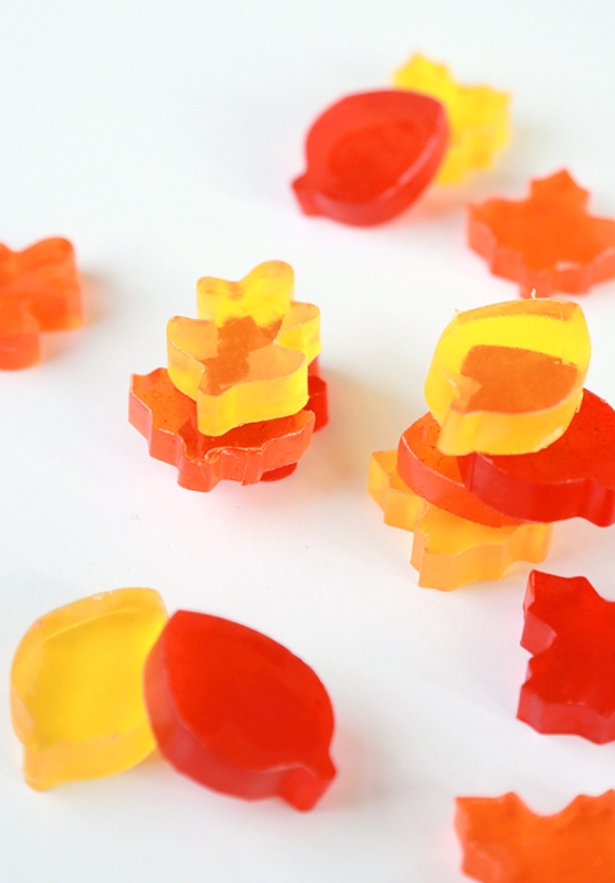 Picture Of adorable diy autumn leaf soaps  1