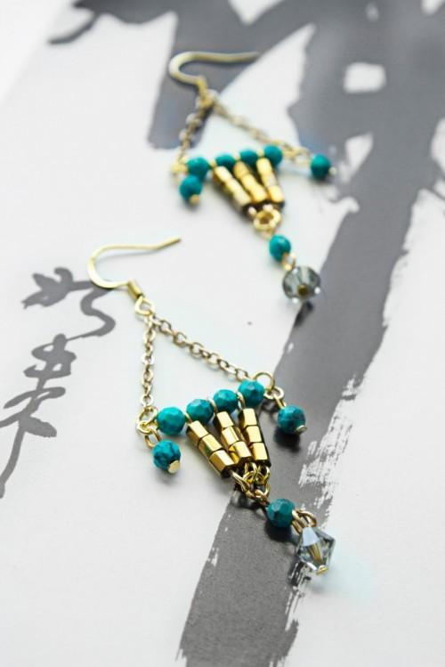 lantern earrings (via styleoholic)