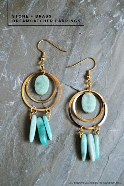 dreamcatcher earrings (via styleoholic)