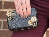 chic embellished clutch