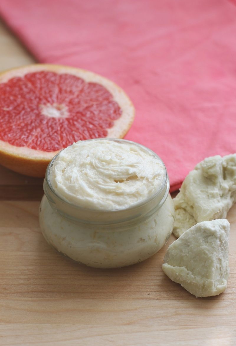 red grapefruit body lotion