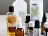 essential oils and jojoba bug spray