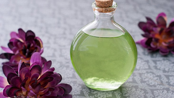 Picture Of all natural diy massage oil with vitamins  1