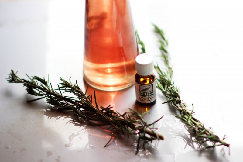 Picture Of all natural diy rosemary tea tree mouthwash  2
