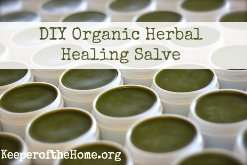 oil, wax and herbs salve (via keeperofthehome)