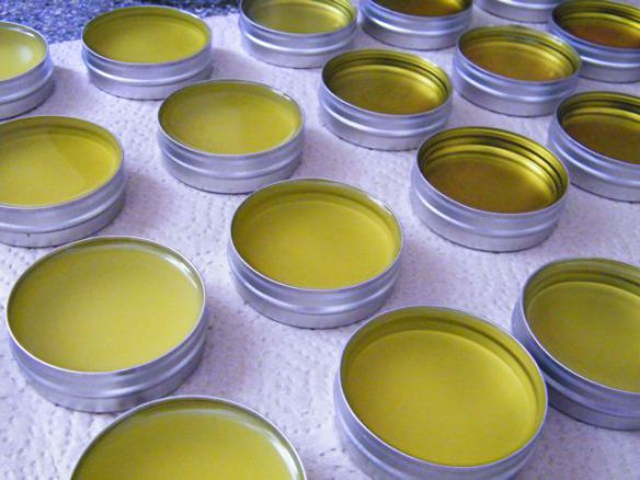 nourishing herbal salve
