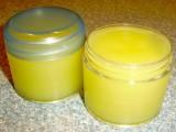 jojoba oil, lavender and chamomile salve