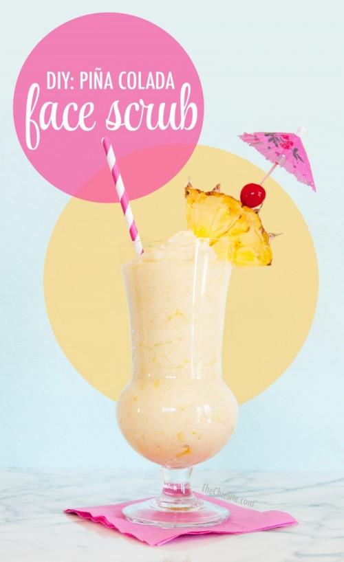 Amazing DIY Pina Colada Face Scrub