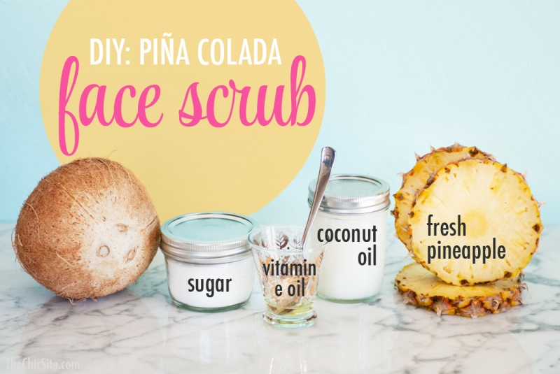 Picture Of amazing diy pina colada face scrub  2