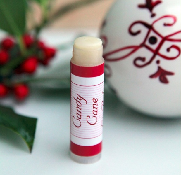Picture Of amazing homemade candy cane lip balms perfect christmas gift  2