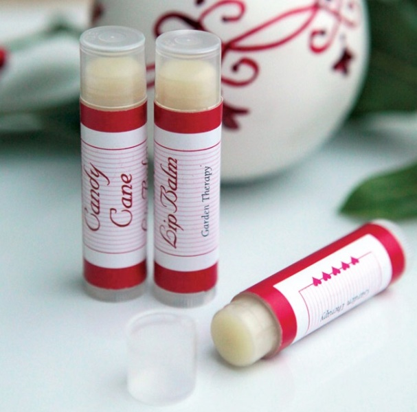 Picture Of amazing homemade candy cane lip balms perfect christmas gift  3