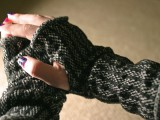 easy sock arm warmers