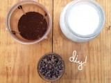 sugar, coconut and coffee cellulite scrub