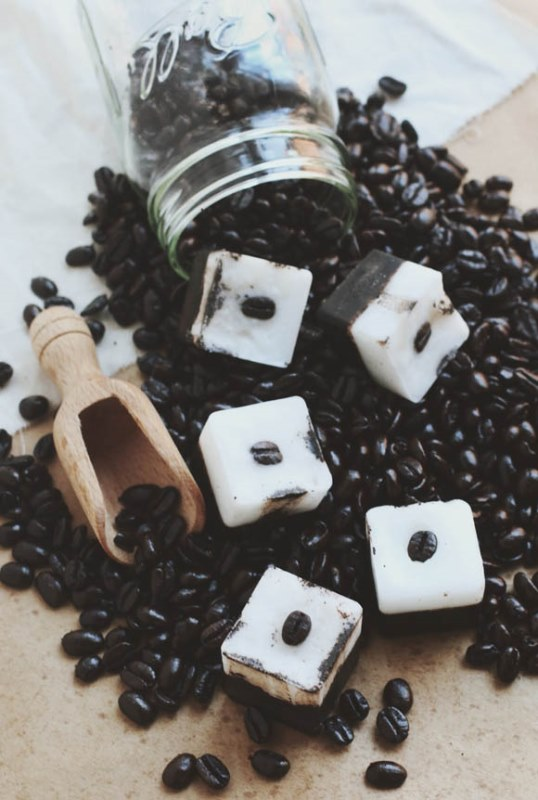Picture Of awesome diy exfoliating coffee coconut bars  1