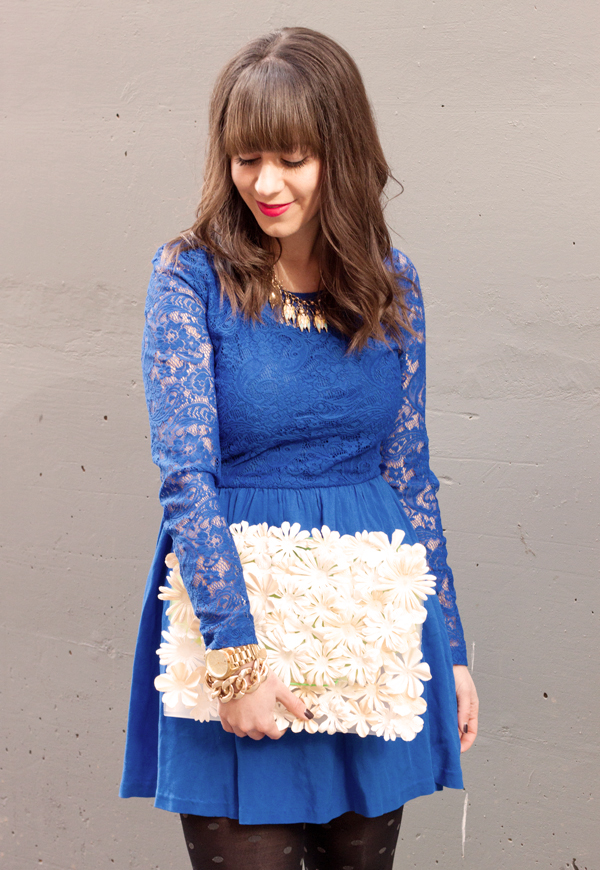 Picture Of awesome diy flower clutch to welcome spring  1