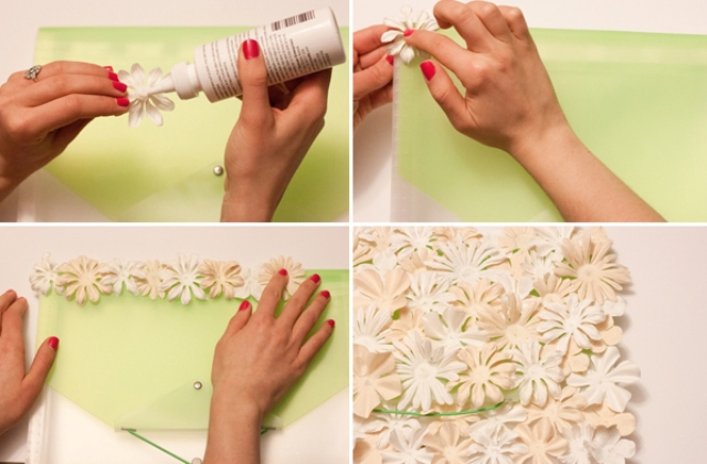 Picture Of awesome diy flower clutch to welcome spring  3