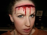 scary cut makeup