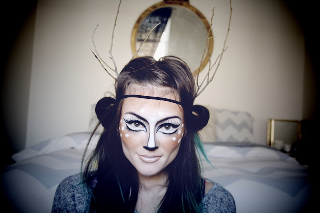 Picture Of deer makeup