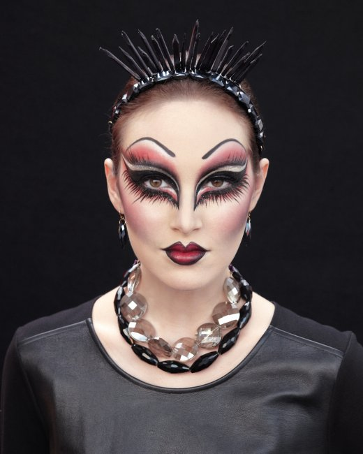 picture of evil queen makeup. Black Bedroom Furniture Sets. Home Design Ideas