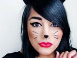 playful kitty makeup