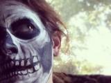 skeleton skin makeup