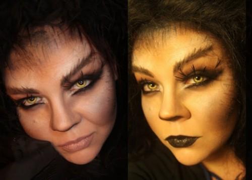 werewolf makeup (via jangsara)