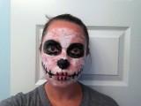 5 minute Halloween makeup