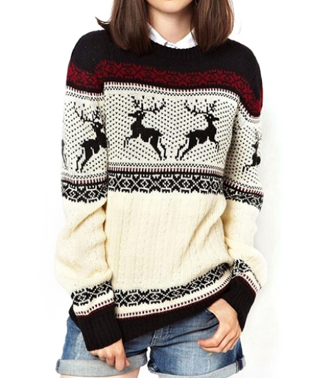 Picture Of awesome holiday sweaters for every girl  7