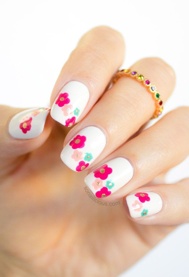 Picture Of awesome spring nails ideas  11