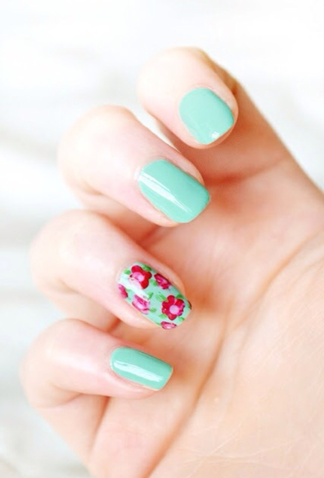 Picture Of awesome spring nails ideas  3