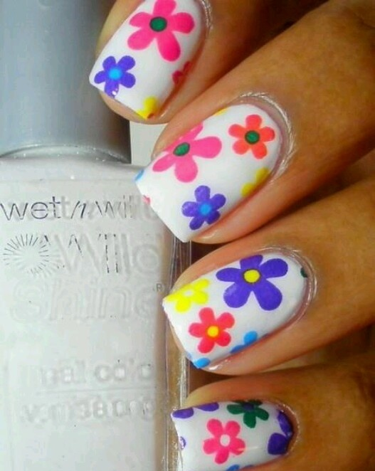 Picture Of awesome spring nails ideas  4