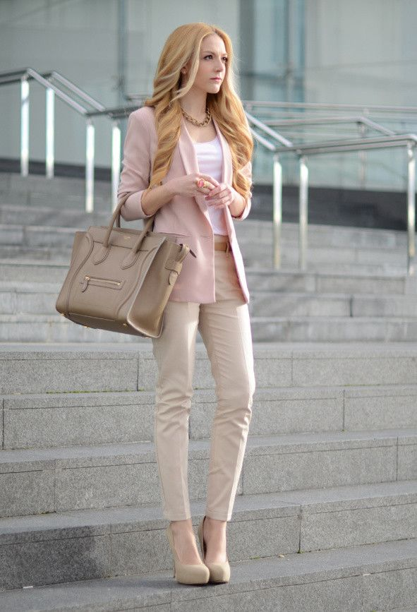 Picture Of awesome spring work outfits for girls  3