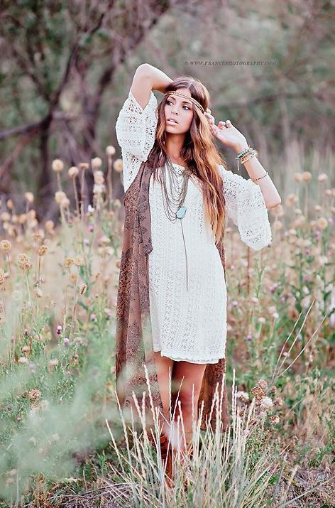 Picture Of awesome summer boho chic outfits for girls 14