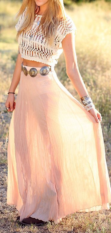 26 Awesome Summer Boho Chic Outfits For Girls | Styleoholic