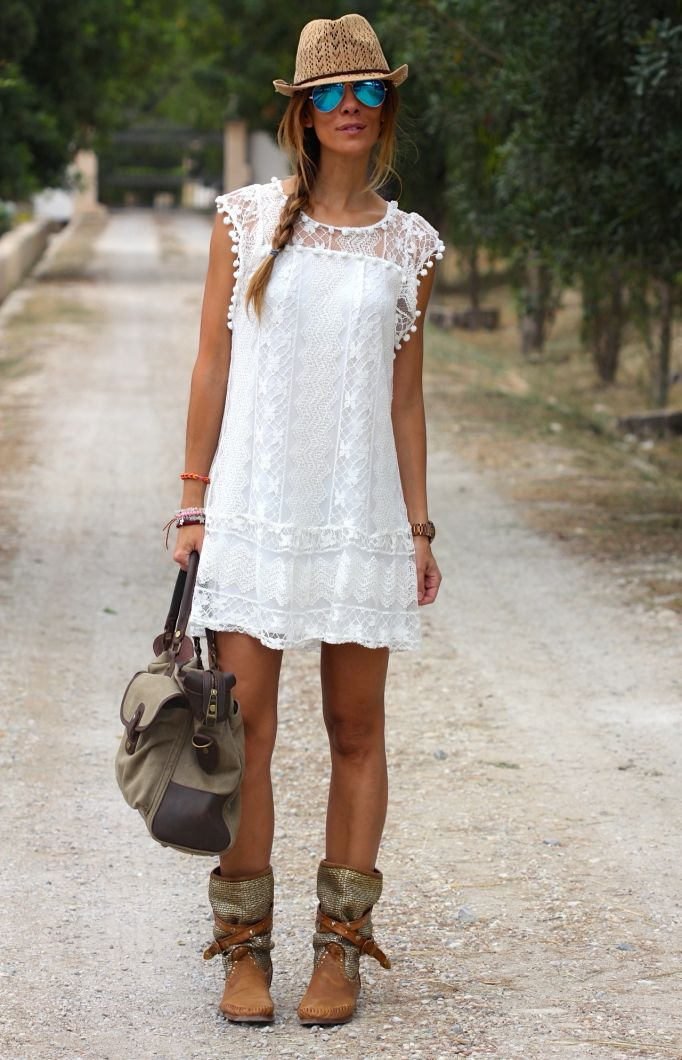 beautiful boho outfits for summer 15
