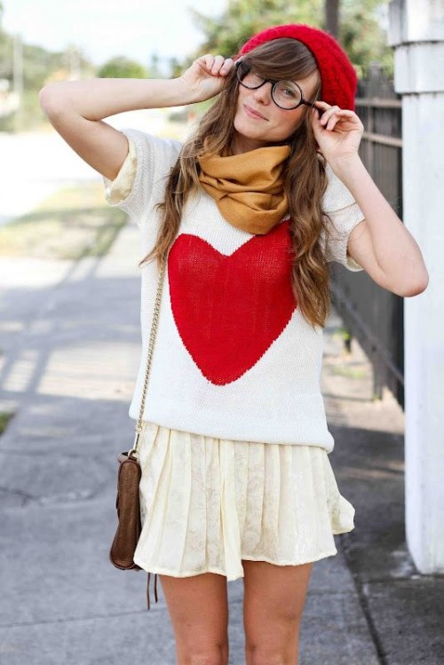 35 Awesome Valentineu2019s Day Outfits For Girls   Styleoholic