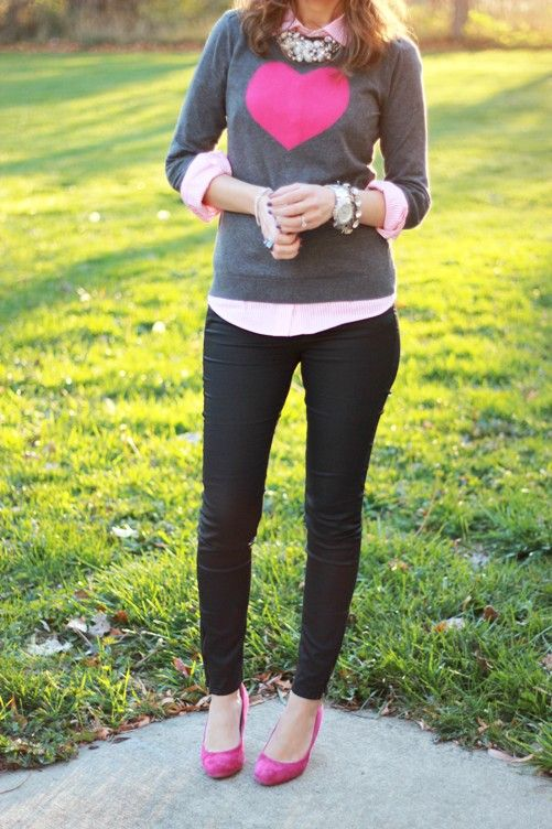 Picture Of awesome valentines date outfits for girls  22