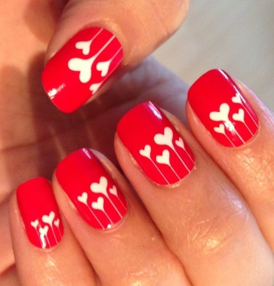 Picture Of awesome valentines day nails ideas  11