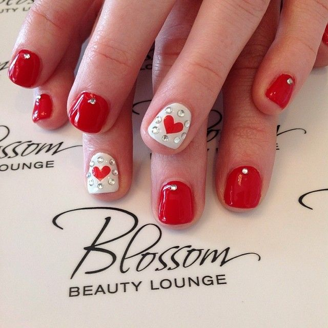 Picture Of awesome valentines day nails ideas  19