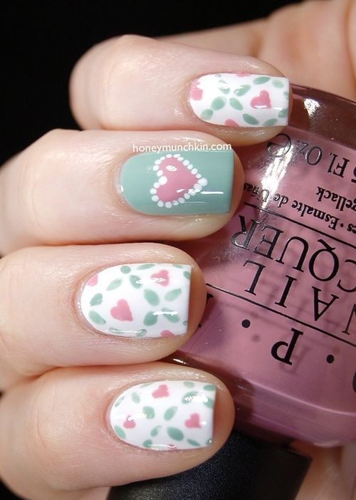 Picture Of awesome valentines day nails ideas  22