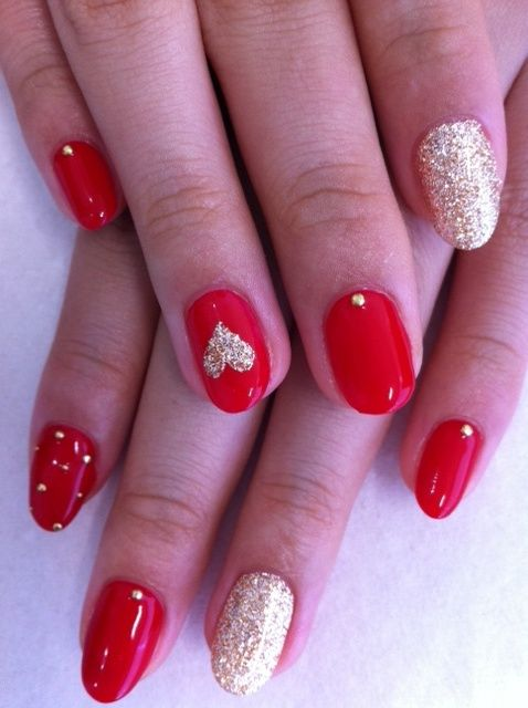 30 Awesome Valentine S Day Nails Ideas Styleoholic