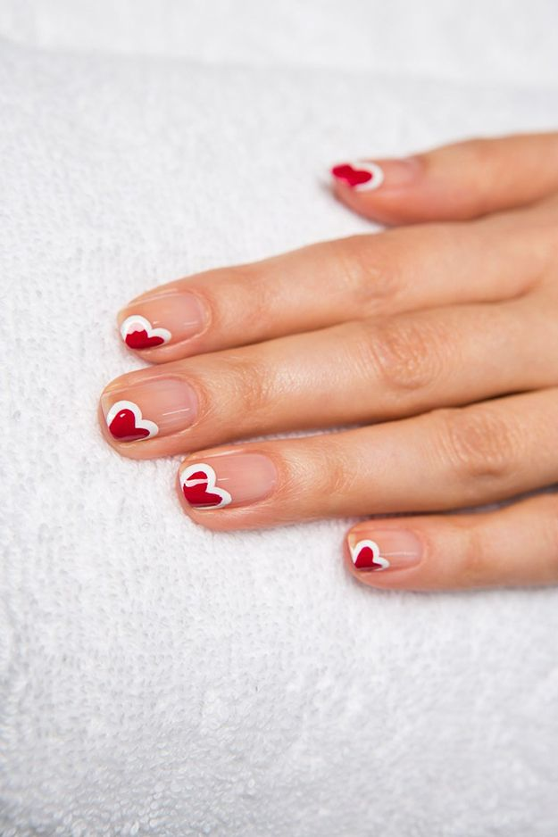Picture Of awesome valentines day nails ideas  24