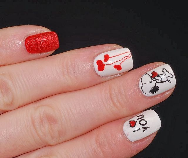 Picture Of awesome valentines day nails ideas  25